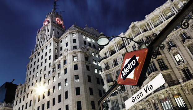 Gran Vía (©José Barea, Madrid Destino)