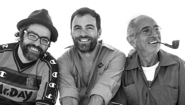 Kevin Johansen + The Nada + Liniers prometen un espectáculo único sobre el escenario.