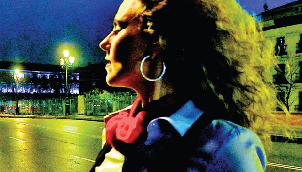 """A la artista noruega le fascina el ambiente musical de Madrid, """"una ciudad que nunca duerme""""."""