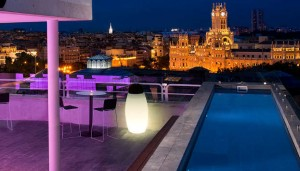 The Balcony. Hotel Melia Madrid Suecia