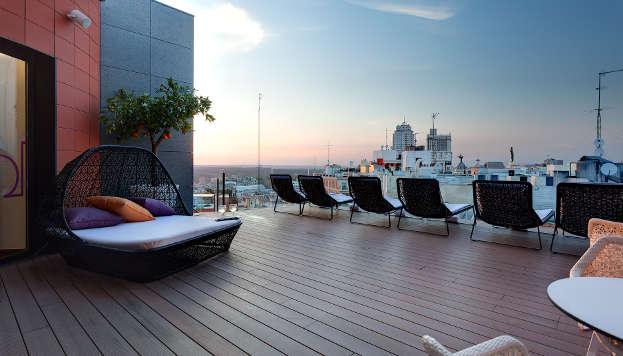 Sky Lounge del Hotel Índigo