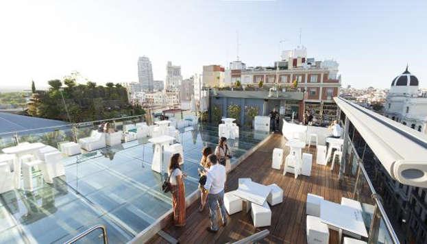 Terraza del Hotel Santo Domingo