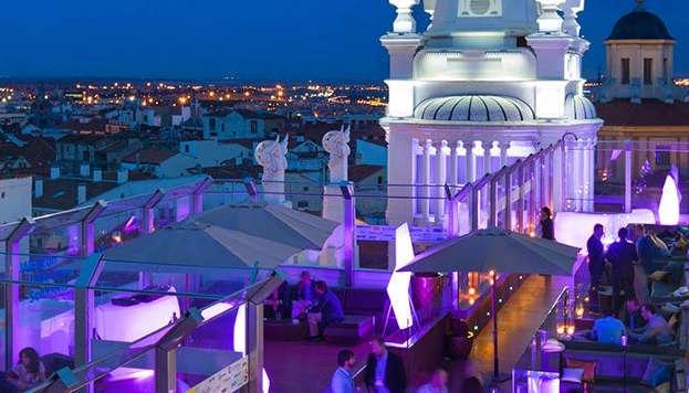 The Roof. Hotel Me Madrid Reina Victoria