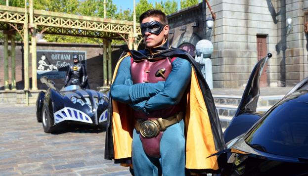 Batman y Robin, pero también Superman, te esperan en el DC Superhéroes World para vivir una gran aventura.