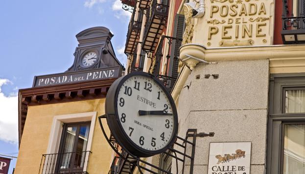 Aunque hoy es un hotel muy moderno, La Posada del Peine fue una de las fondas más frecuentadas de Madrid.