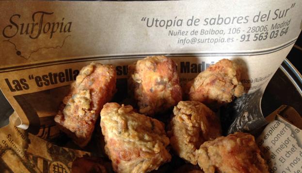 En Surtopía realizan una cocina andaluza llena de sabor... y muy creativa.