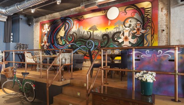 ¿Una galería de arte, un restaurante o una coctelería? De todo tiene el Arts Club Madrid.