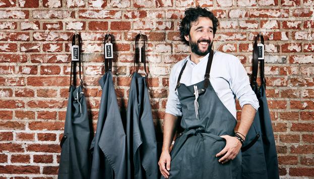 Un año lleva abierto DSTAge, el restaurante de Diego Guerrero que luce una estrella Michelin.