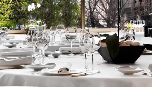 El meloso de cereales con setas de invierno es una de las propuestas de la carta del restaurante M29.