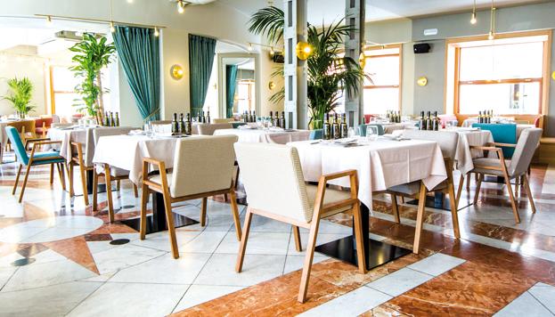 El restaurante Atalanta está en plena Gran Vía. Y su menú, muy asequible, es una gran propuesta.