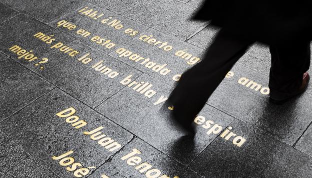 Calle de las Huertas, en el Barrio de las Letras