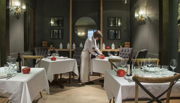 Todo el mundo conoce el restaurante de Floren Domezain con El rey de las verduras. Toda una experiencia.