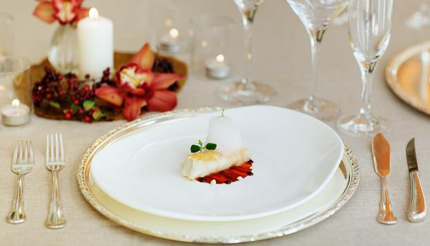 ¡Hay que disfrutar de la Nochevieja! Este exquisito plato forma parte del menú del Hotel Continental.