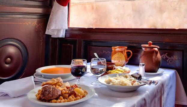 El cocido de La Bola es uno de los más famosos de Madrid. Todo un clásico en invierno.