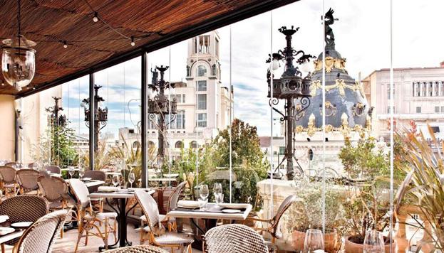 Buena comida y mejores vistas: el restaurante Ático, de Ramón Freixa, se apunta a los Menú by Elle.