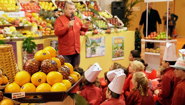 Los niños también serán protagonistas: habrá talleres sobre frutas, verduras, pan... ¡Hasta podrán elaborar recetas!