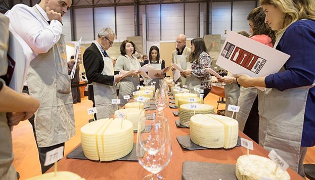 En El Taller de los Sentidos Gourmets, abierto al público, se podrán degustar los quesos entre los que se elegirá al mejor de España.