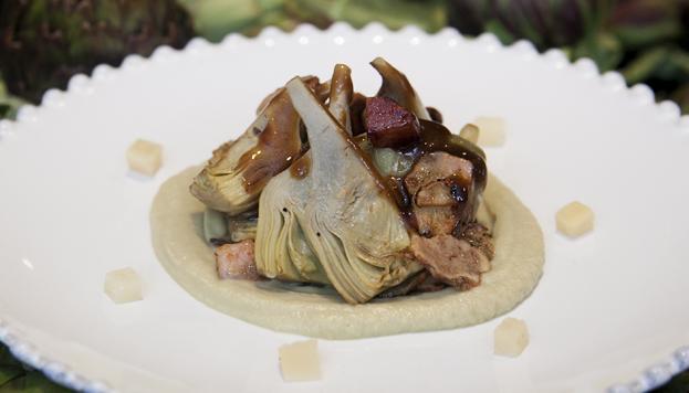 En Rooster también se suman a la moda. Este plato es de sobresaliente.