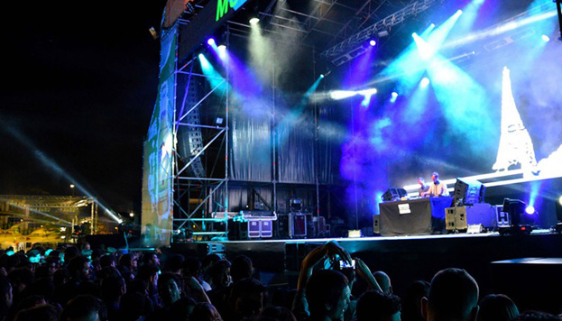 Hasta cuatro grandes festivales de música se dan cita en Madrid en junio. En la imagen, concierto de Mulafest.
