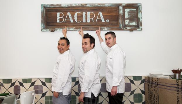 Estos son Gabriel Zapata, Vicente de la Red y Carlos Langreo. Un equipo perfecto.
