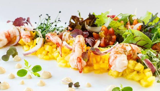Entre el 15 y el 24 de abril tiene lugar una nueva edición de Madrid Exquisito. Este plato tan primaveral es de Seven&Six.
