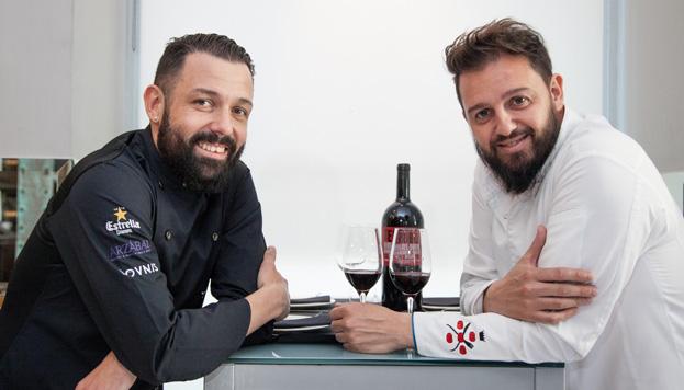 Iván Morales y Álvaro Castellano se han convertido en dos grandes referencias de la gastronomía madrileña actual.