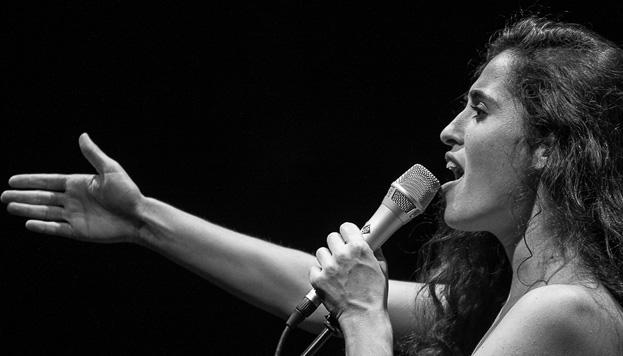 Sílvia Pérez Cruz actúa este fin de semana en el Auditorio Nacional (© Miquel Ángel Daniel).
