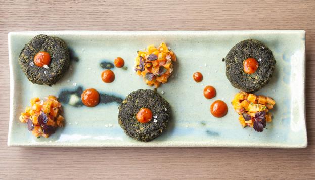 En Madrid hay numerosos restaurantes especializados en cocina india. Este plato es una propuesta de Benares.