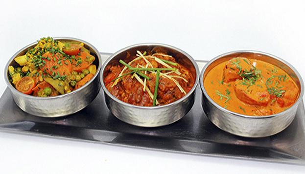 Lo mejor en Tandoori Station es probar el menú degustación. ¡Atención a sus curries!