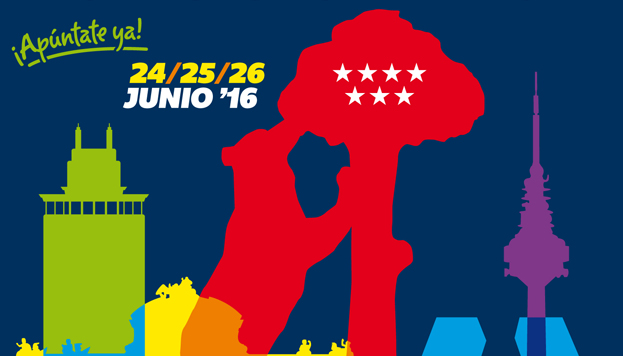 Los Juegos del Orgullo se celebran en Madrid entre el 24 y el 26 de junio.