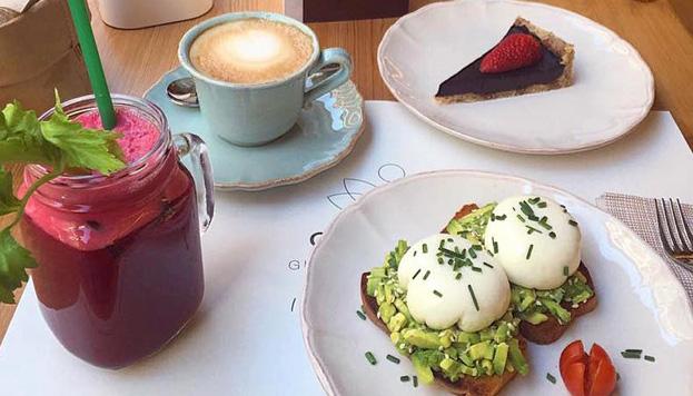 Para celíacos... y para los que no lo son. En Celicioso se puede desayunar así de bien.