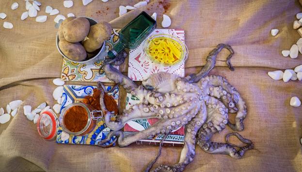 En Madrid siempre ha tenido mucho éxito la cocina gallega. Pero no solo las marisquerías... Este bodegón lo firma Pepe Solla.