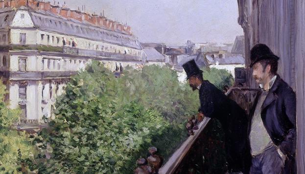 Exposición Caillebotte, pintor y jardinero, en el Museo Thyssen-Bornemisza