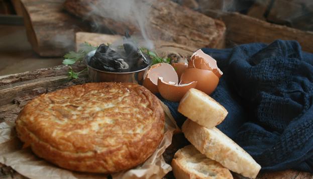 Para empezar a saborear el otoño nada como esta tortilla ahumada de Jimbo Smokehouse.