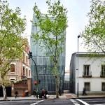 Edificio histórico y nuevo edificio 300x300