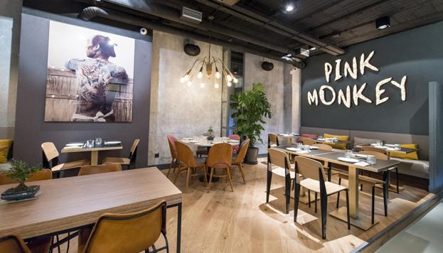 Pink Monkey es uno de los restaurantes que han abierto últimamente sus puertas en el barrio de Chamberí.