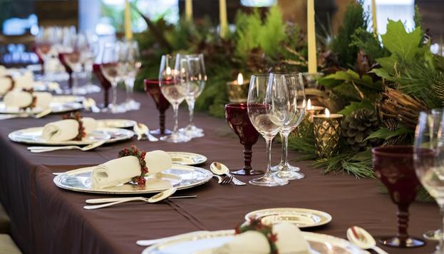 El Hotel Intercontinental promete a sus comensales disfrutar de una cena de auténtico cuento.