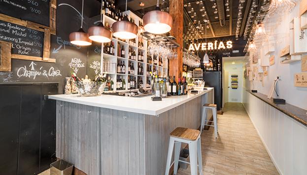 La taberna Averías, elegida mejor bar de vinos de España de 2016, también se apunta a esta ruta quesera.