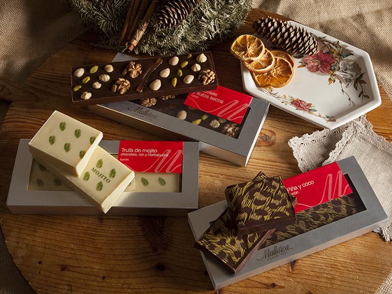 Los dulces navideños de Mallorca, con numerosas sucursales en Madrid, nunca fallan.