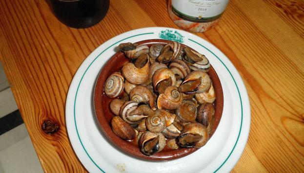 En Las Piedras hay que probar los caracoles, también reconocidos como los mejores de Madrid.