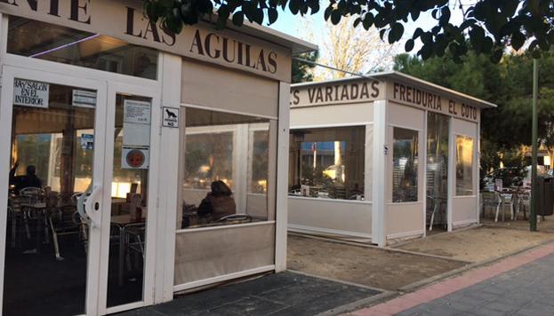 Las terrazas de los bares El Coto y Las Águilas abren todo el año.