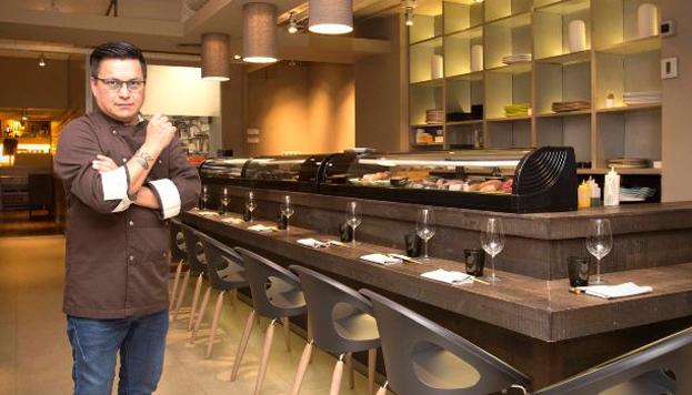 En Kena Luis Arévalo ha preparado un menú nikkei irresistible.