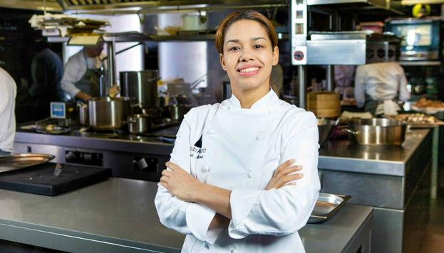 En Conde Duque podrás ver un documental sobre María Marte, chef de El Club Allard.