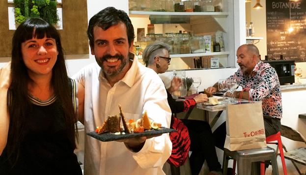 Nacho Sánchez consigue en Botanique una cocina sorprendente, original y exquisita.