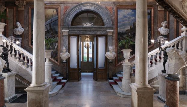 Escalera de Honor del Museo Cerralbo