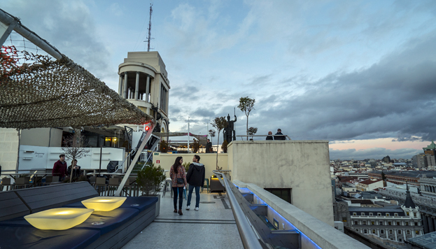Azotea del Círculo de Bellas Artes