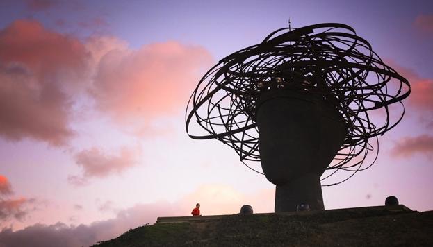 La Dama del Manzanares, en el Parque Lineal del Manzanares