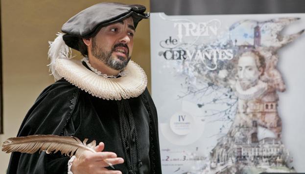 ¿Nos vamos de paseo a Alcalá de Henares con el mismísimo Miguel de Cervantes?