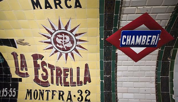 Andén 0, en la estación fantasma de Chamberí, nos propone todo un viaje en el tiempo.