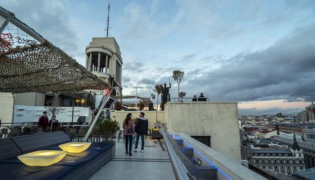 La Azotea del Círculo de Bellas Artes ya es todo un clásico en Madrid.